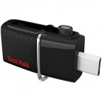 Память SanDisk USB Flash 16GB, USB3.0/microUSB